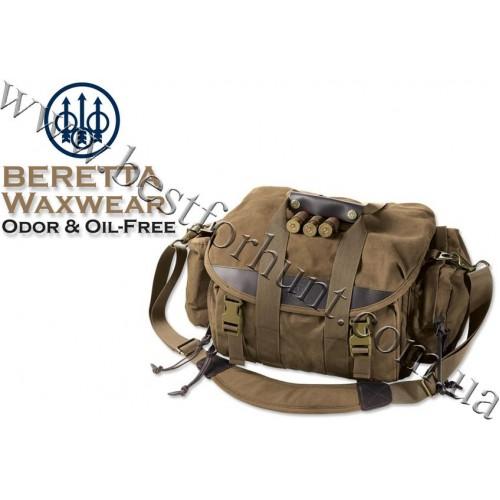 Beretta® Waxwear Field Cartridge Bag BS260 Brown 6 Boxes