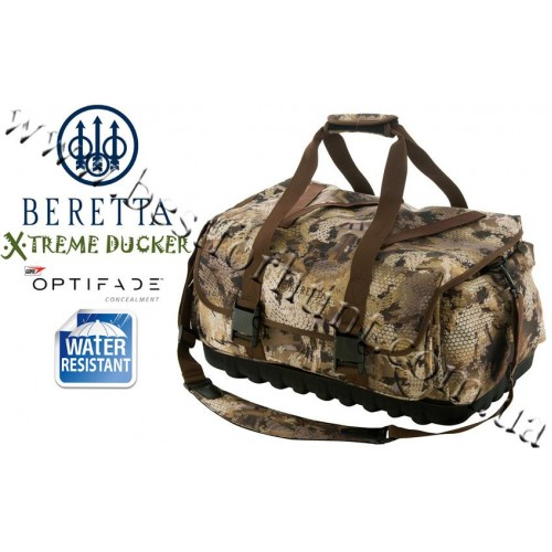 Beretta® Xtreme Ducker™ Double Banded Large Field Bag GORE™ OPTIFADE™ Concealment in Waterfowl Marsh