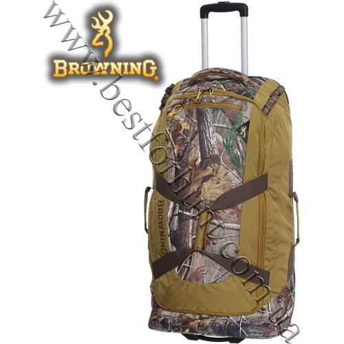Browning® Bear 6000 Wheeled Duffel Bag Realtree AP®