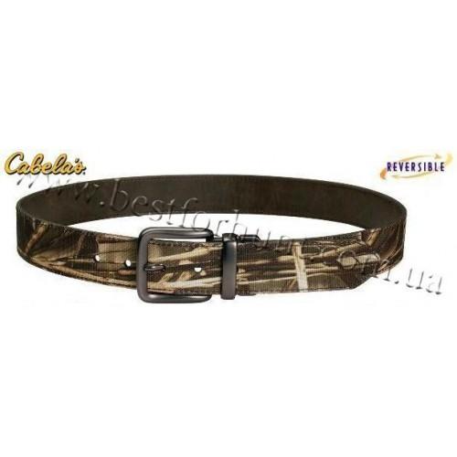 Cabela's Camo Reversible Belt Realtree MAX-4®