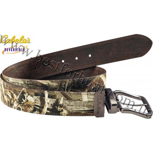 Cabela's Camo Reversible Belt Realtree MAX-5®