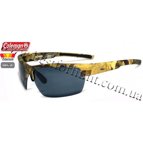 Coleman® RAPTOR™ Camouflage Frame with Polarized Protection Smoke Lens C6050-C1