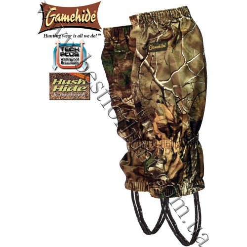 Gamehide® Hush Hide® Waterproof Gaiters Realtree Xtra®