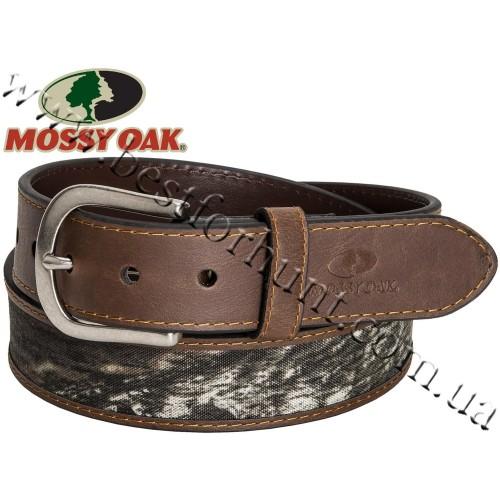 Mossy Oak® Camo Leather Belt Mossy Oak® Break-Up®