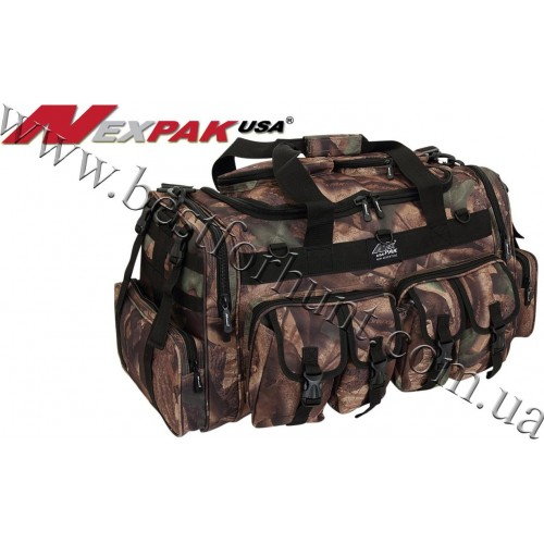 "NexPak USA® 30"" Duffle Military Tactical Shoulder Bag Hunters Camo®"