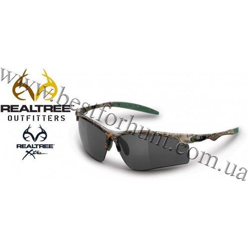 Realtree Outfitters® Drop Tine Polarized Sunglasses Realtree Xtra®-Smoke