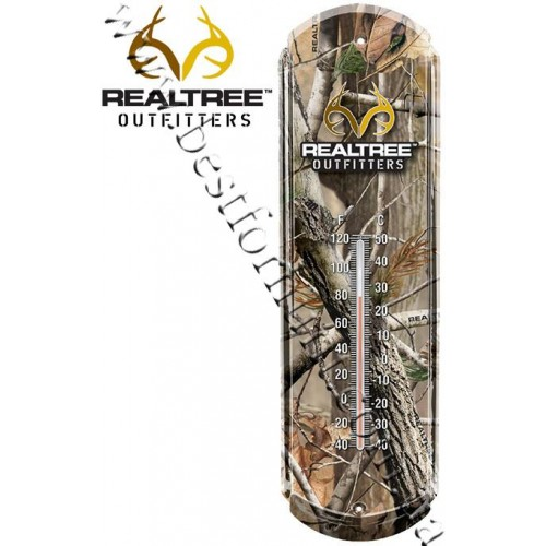 Realtree Outfitters® Tin Thermometer Realtree AP®