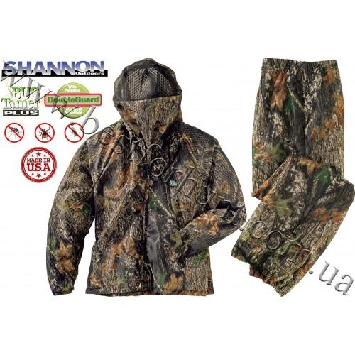 Shannon Outdoors® Classic Double Guard Bug Tamer® Plus Camo Set Mossy Oak® Break-Up®