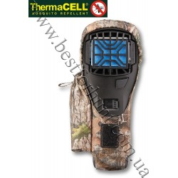 ThermaCELL® Portable Mosquito Repellent Appliance Black with 12 Hours Refills and Holster True Timber® Kanati™ Camo