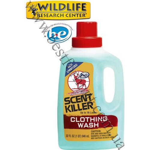Wildlife Research Center® Scent Killer® Super Charged® Liquid Clothing Wash Odorless Formula™ 32 fl.oz.