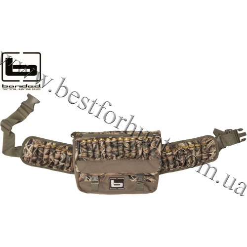 Banded® 2-in-1 Shell Shoulder Bag and Waist Pack Mossy Oak® Shadow Grass® Blades™