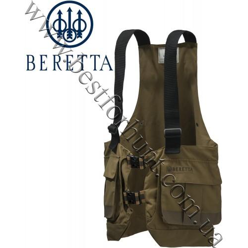Beretta® Covey Strap Hunting Vest GU124 Hunting Brown