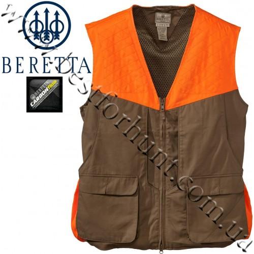 Beretta® Upland Front-Loading Cotton Vest Tan