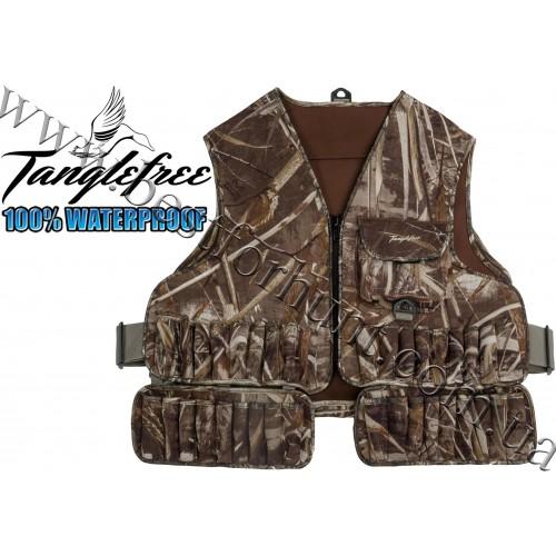 Tanglefree® Neoprene Wader Vest Realtree MAX-5®