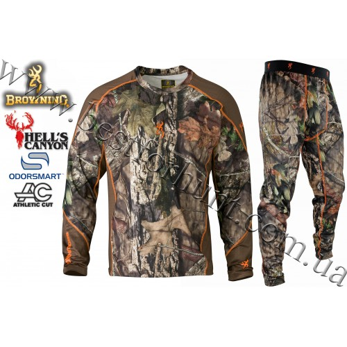 Browning® Hell's Canyon™ Active Base Layer Hunting Set Mossy Oak® Break-Up® COUNTRY™