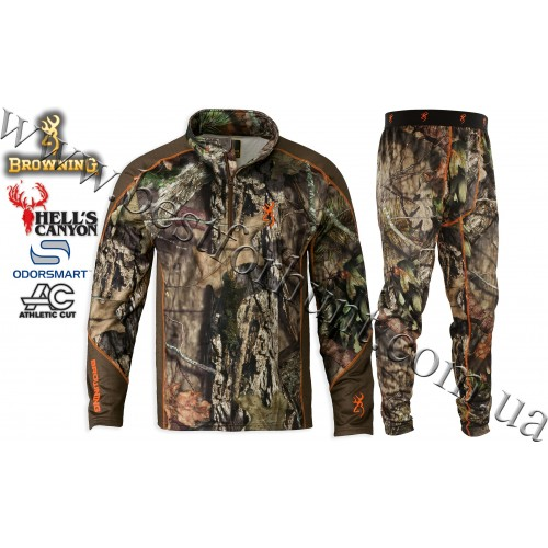 Browning® Hell's Canyon™ Midweight Base Layer Hunting Set Mossy Oak® Break-Up® COUNTRY™