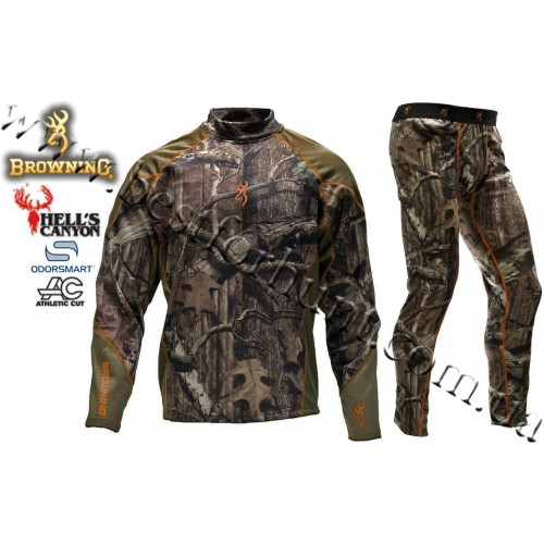 Browning® Hell's Canyon™ Midweight Base Layer Hunting Set Mossy Oak® Break-Up® Infinity™