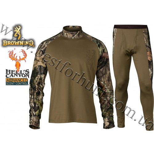 Browning® Hell's Canyon™ Riser Base Layer Hunting Set Mossy Oak® Break-Up® COUNTRY™