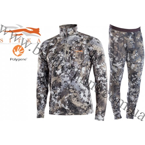 Sitka™ Core Midweight Base Layer Hunting Set GORE™ OPTIFADE™ Concealment Elevated II
