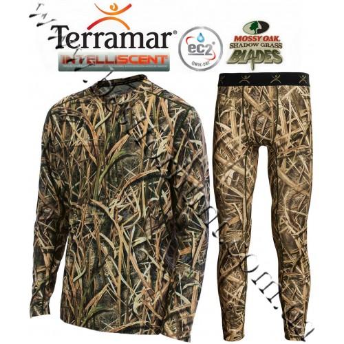 Terramar® 2.0 Stalker INTELLISCENT™ Midweight Base Layer Set Mossy Oak® Shadow Grass® Blades™