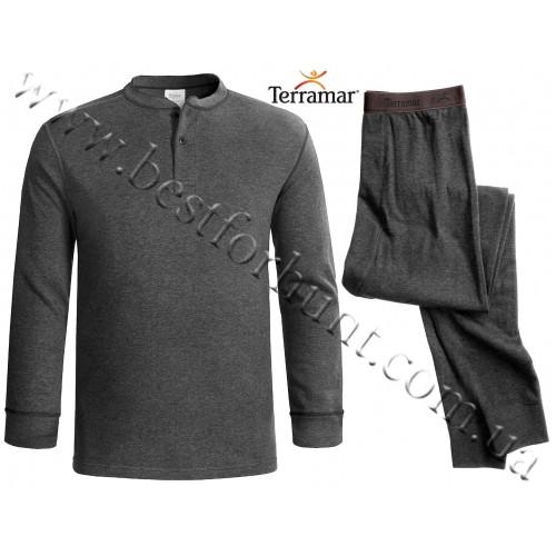 Terramar Base Layer Wool-Blend Two-Layer