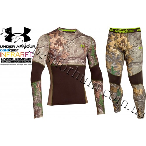 Under Armour® ColdGear® Infrared Armour Scent Control Set Realtree Xtra®