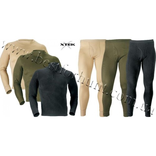 XTEK Cold-Weather-Solutions Base Layer 3-Pack