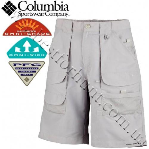 """Columbia® 10"""" PFG Permit Fishing Shorts Cool Grey"""