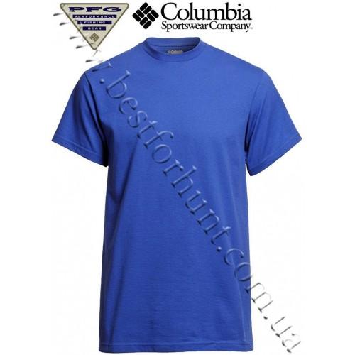 Columbia® PFG Lake Slam Short Sleeve T-Shirt Vivid Blue