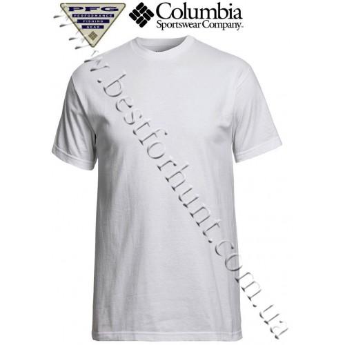 Columbia® PFG Lake Slam Short Sleeve T-Shirt White