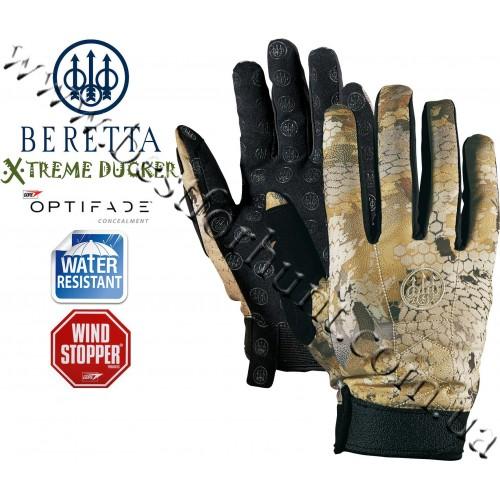 Beretta® Xtreme Ducker™ Soft Shell Gloves GORE™ OPTIFADE™ Concealment Waterfowl Marsh