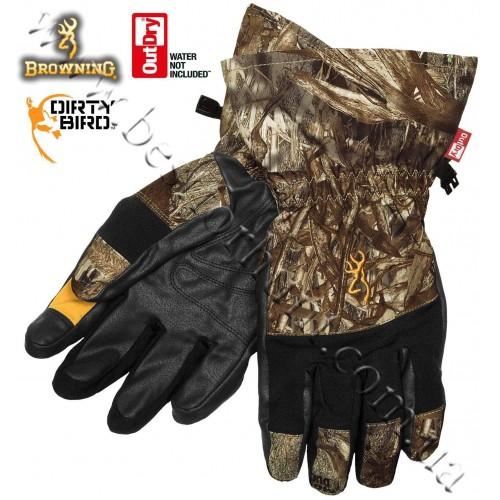 Browning® Dirty Bird™ OutDry® Waterproof Gunners Gloves Mossy Oak® Duck Blind®