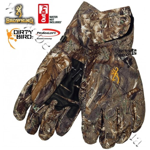 Browning® Dirty Bird™ OutDry® Waterproof Insulated Gloves Mossy Oak® Duck Blind®