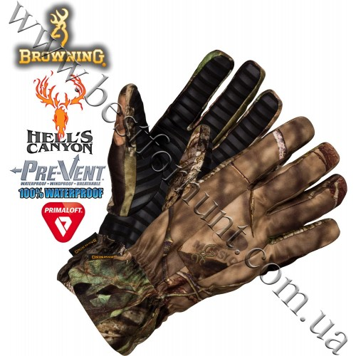 Browning® Hell's Canyon™ BTU PrimaLoft® Insulated Glove Mossy Oak® Break-Up® COUNTRY™