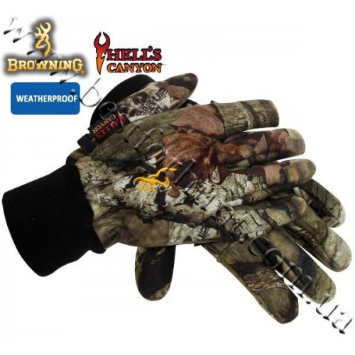 Browning® Hell's Canyon™ Hunting Gloves Mossy Oak® Break-Up® Infinity™