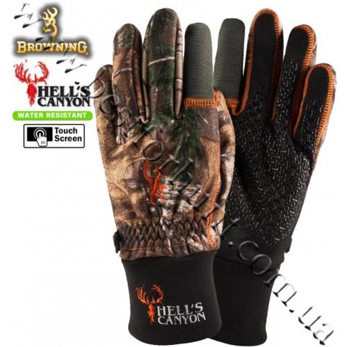 Browning® Hell's Canyon™ Hunting Gloves Realtree Xtra®