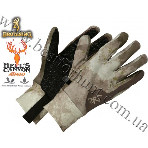 Browning® Hell's Canyon™ Speed Backcountry Glove A-TACS AU Camo™