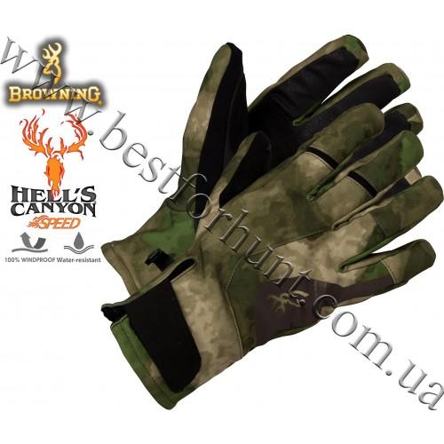 Browning® Hell's Canyon™ Speed Hellfire Glove A-TACS FG Camo™