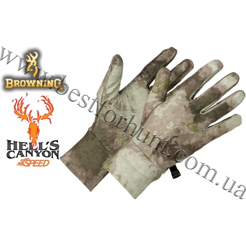 Browning® Hell's Canyon™ Speed Phase Liner Glove A-TACS AU Camo™