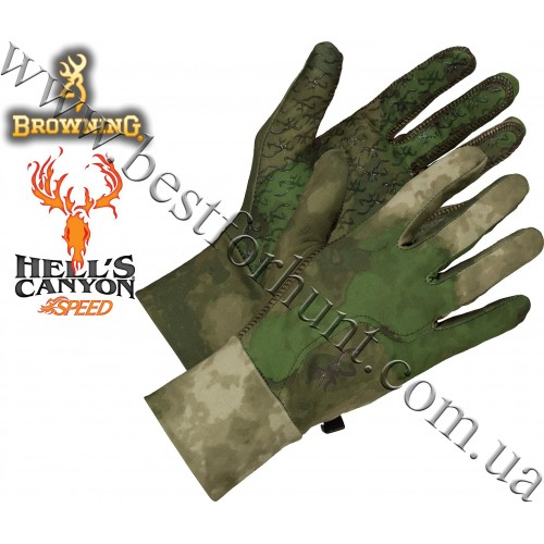 Browning® Hell's Canyon™ Speed Phase Liner Glove A-TACS FG Camo™