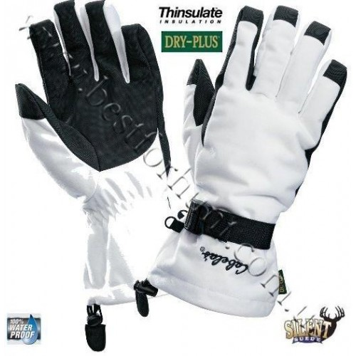 Cabela's Dry-Plus® Silent Suede™ Gloves White