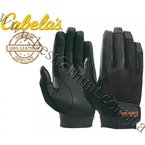 Cabela's Mesh-Back Shooting Gloves Black