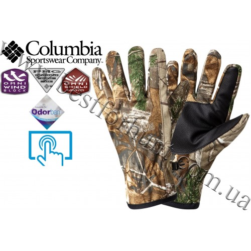 Columbia Sportswear® PHG™ Stealth Shot™ Softshell Shooter Glove Realtree Xtra®