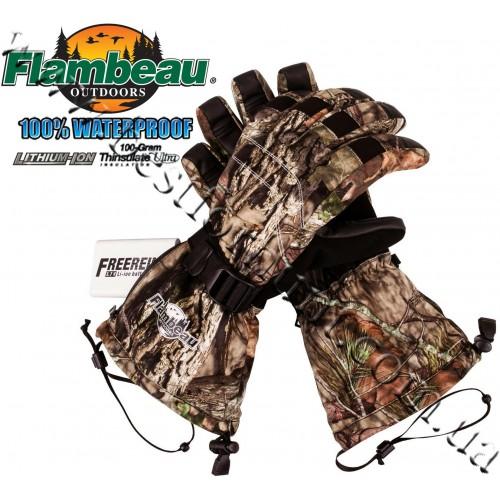 Flambeau® Rechargeable Heated Gloves Kit Mossy Oak® Break-Up® COUNTRY™