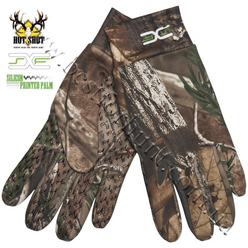 Jacob Ash Bronco XSF Stretch Microfleece Gloves Realtree AP®