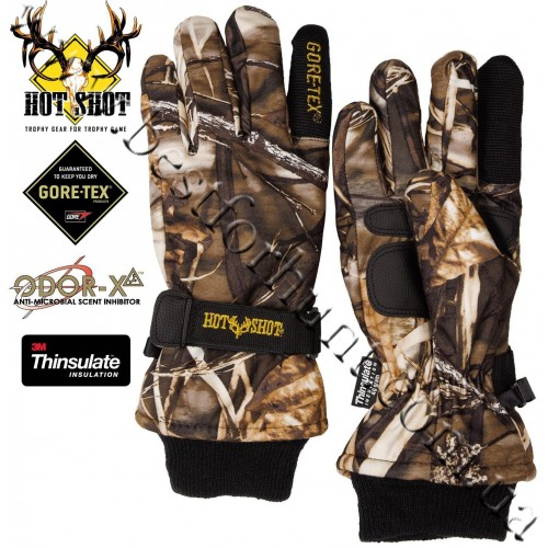 Jacob Ash Hot Shot Hunter Gore-Tex® Waterproof Insulated Gloves Realtree MAX-4®