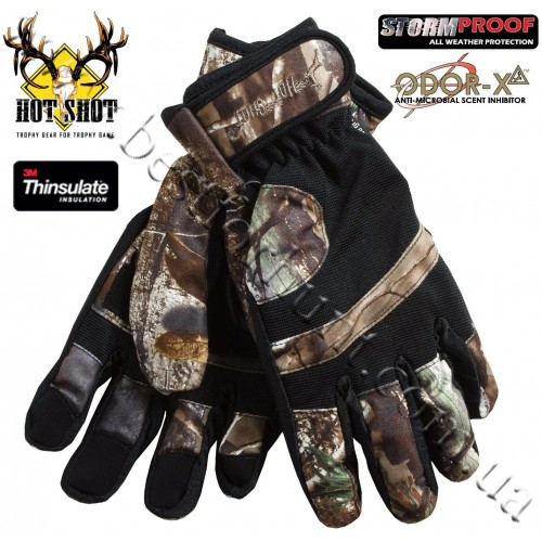 Jacob Ash Hot Shot Rattler Brushed Tricot Hunting Insulated Gloves