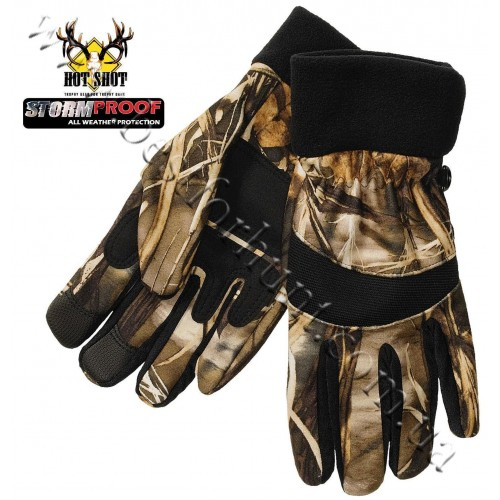 Jacob Ash Hot Shot Stormproof Fleece Hunting Gloves