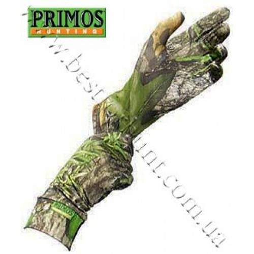 Primos® Stretch-Fit Extended Cuff Gloves Mossy Oak® Obsession®