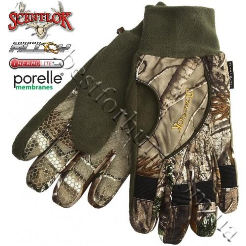 Scent-Lok® ThunderTek™ Waterproof Insulated Gloves Realtree AP®